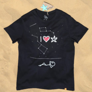 Starfish love at night