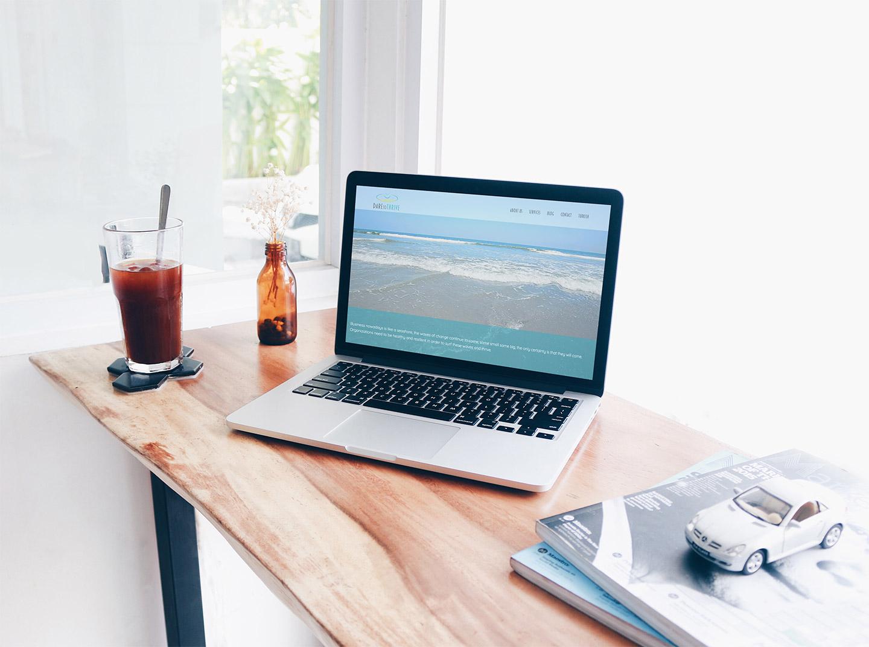 Dare-to-Thrive Website Design