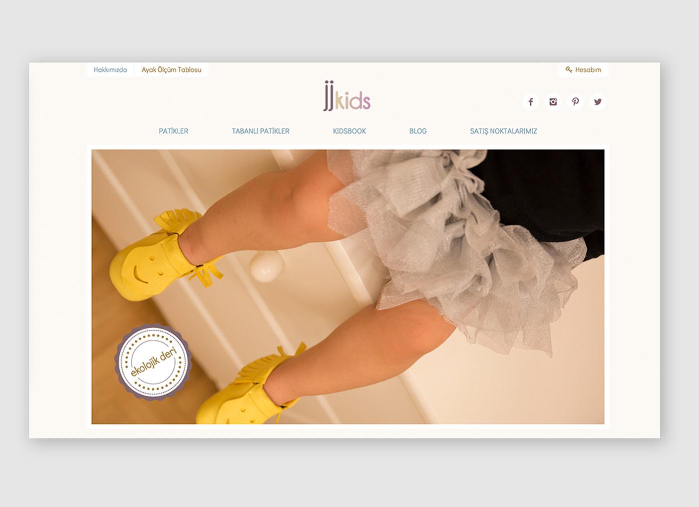 JJkids WooCommerce Website Design