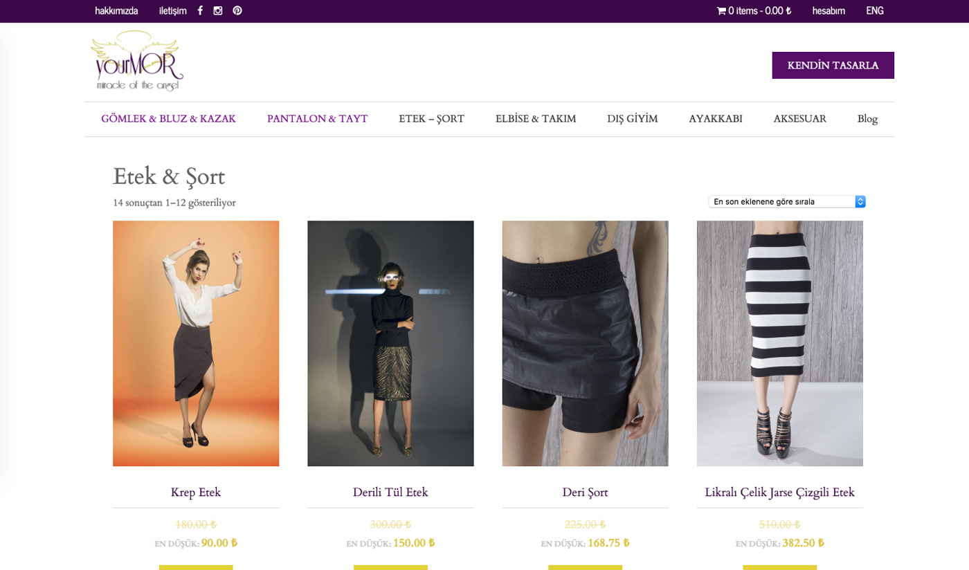 YourMOR WooCommerce Website Design