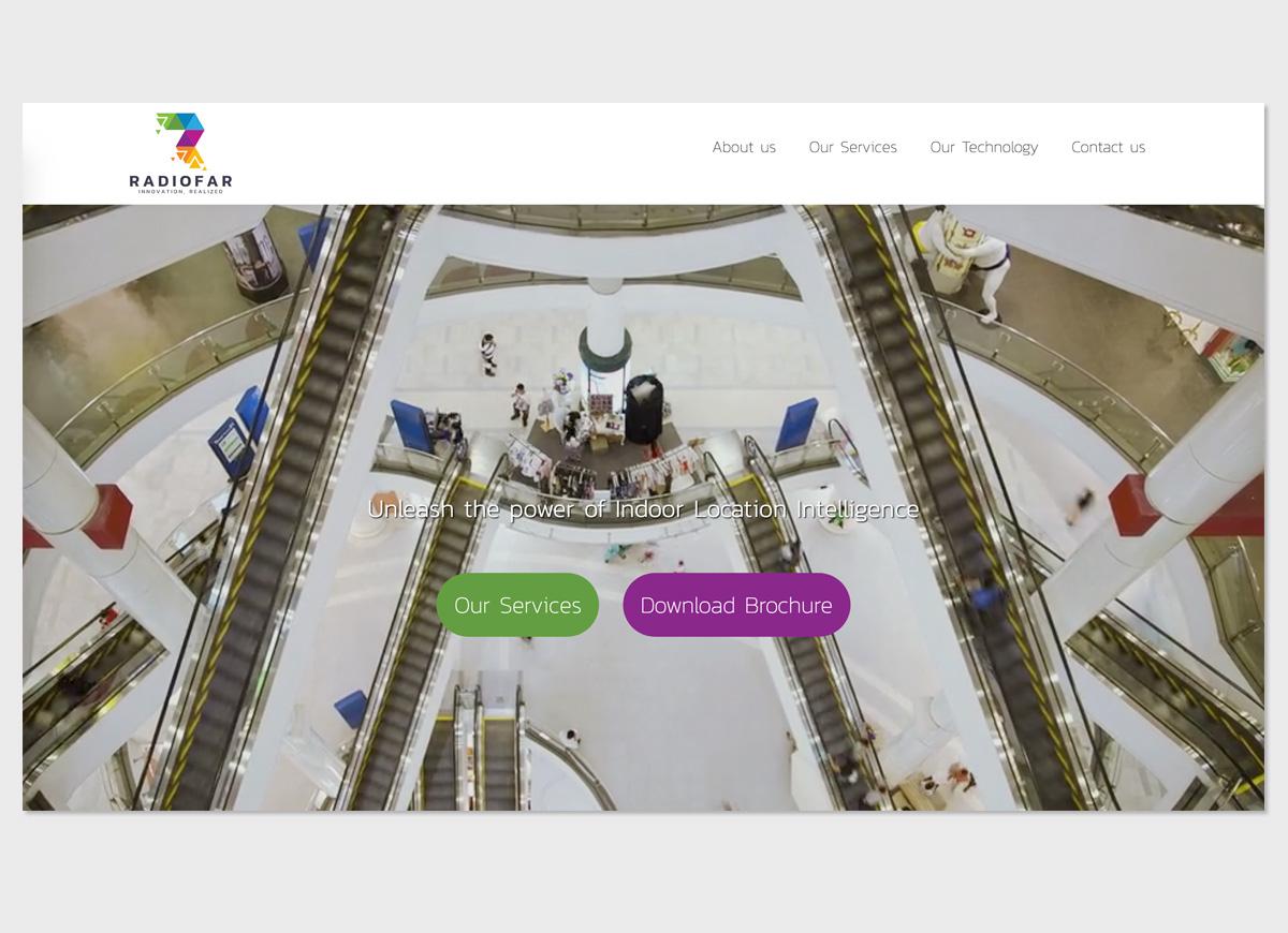 Radiofar Website Design