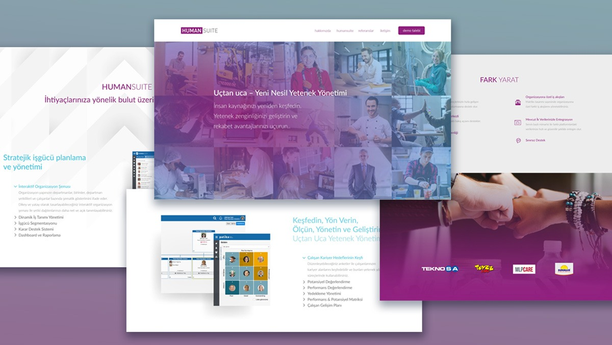 Humansuite HR Management Website Design